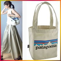 Patagonia Casual Style Canvas Totes