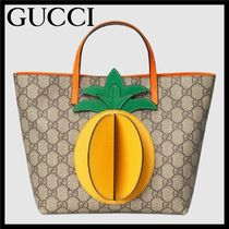 GUCCI GG Supreme Petit Studded Kids Girl Bags