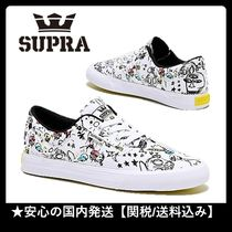 SUPRA Unisex Street Style Collaboration Sneakers