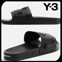 Y-3 Flower Patterns Street Style Shower Shoes PVC Clothing