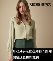 REISS Long Sleeves Plain Office Style Shirts & Blouses