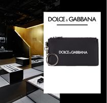 Dolce & Gabbana Leather Coin Cases