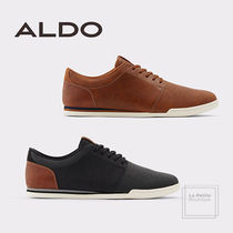 ALDO Faux Fur Bi-color Plain Oversized Sneakers