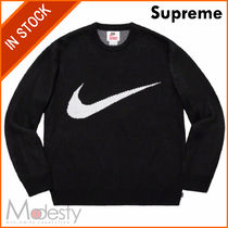 Supreme Street Style Collaboration Plain Knits & Sweaters
