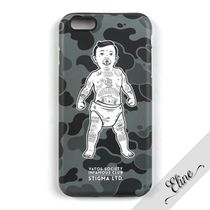 STIGMA Camouflage Street Style Smart Phone Cases