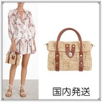 Zimmermann Casual Style Blended Fabrics Street Style 2WAY Leather