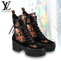Louis Vuitton MONOGRAM Monogram Rubber Sole Casual Style Other Animal Patterns