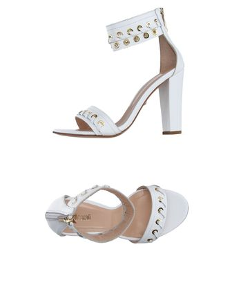Plain Leather Heeled Sandals