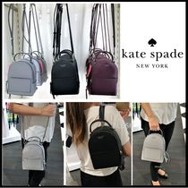 kate spade new york Casual Style Saffiano 3WAY Plain Backpacks