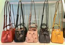 kate spade new york Flower Patterns 2WAY Plain Leather Handbags