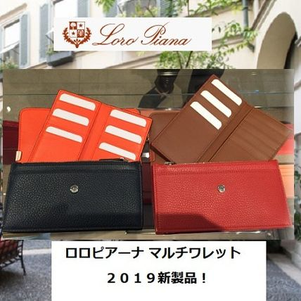 Calfskin Handmade Long Wallets