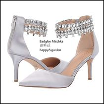 Betsey Johnson Party Style With Jewels Pointed Toe Pumps & Mules