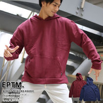 EPTM Pullovers Unisex Sweat Street Style Long Sleeves Plain