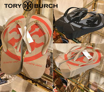 Tory Burch Other Check Patterns Open Toe Flip Flops Elegant Style