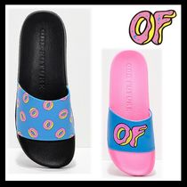 Odd Future Unisex Street Style Shower Shoes Oversized Shower Sandals