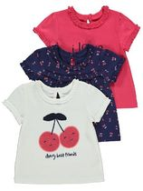 George Baby Girl Tops