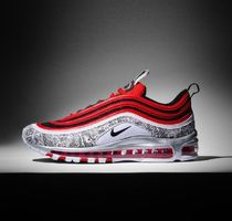 Nike AIR MAX 97 Unisex Blended Fabrics Street Style Sneakers