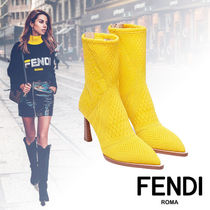 FENDI Elegant Style Ankle & Booties Boots