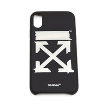 Off-White Street Style Plain iPhone X iPhone XS iPhone XR Logo