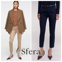 Sfera Casual Style Plain Medium Cropped & Capris Pants