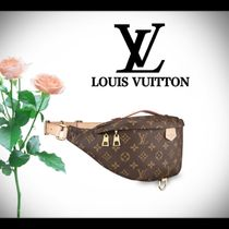 Louis Vuitton Monogram Casual Style Unisex Street Style 2WAY Leather Bags