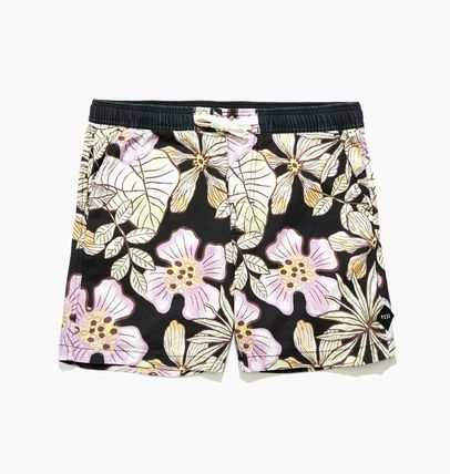 Flower Patterns Tropical Patterns Unisex Street Style