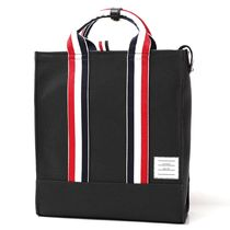 THOM BROWNE Leather Totes