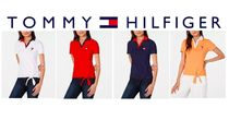 Tommy Hilfiger Casual Style Bi-color Cotton Medium Short Sleeves