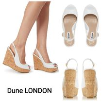 Dune LONDON Open Toe Casual Style Leather Shoes