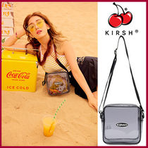 KIRSH Casual Style Collaboration Crystal Clear Bags PVC Clothing