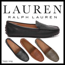 Ralph Lauren Plain Leather Loafer & Moccasin Shoes