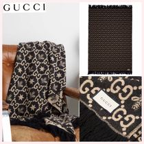 GUCCI Black & White Throws