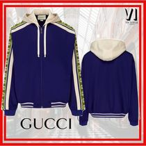 GUCCI Unisex Street Style Track Jackets