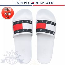 Tommy Hilfiger Open Toe Casual Style Flip Flops Flat Sandals