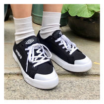 UMBRO Round Toe Rubber Sole Casual Style Street Style Plain