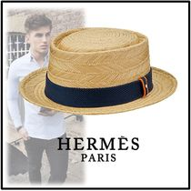HERMES 2019-20AW MENS HAT TENNESSEE navy hats
