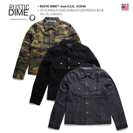 Unisex Street Style Collaboration Military Jackets