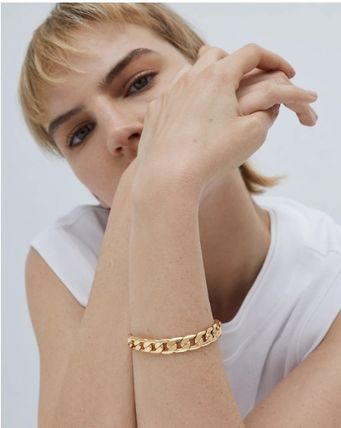 Casual Style Chain Silver Brass 14K Gold Elegant Style