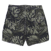 Ralph Lauren Flower Patterns Camouflage Street Style Oversized Swimwear