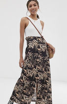 ASOS Tropical Patterns Casual Style Maxi Street Style Long