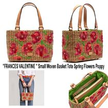 FRANCIS VALENTINE Flower Patterns Casual Style Street Style Collaboration