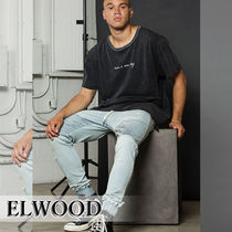 ELWOOD Street Style Plain Cotton Joggers Jeans & Denim