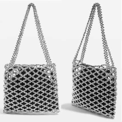 Casual Style Blended Fabrics Purses Totes