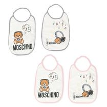 Moschino Unisex Baby Girl Bibs & Burp Cloths