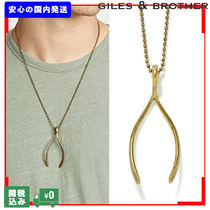 GILES&BROTHER Unisex Street Style Plain Necklaces & Chokers