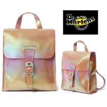 Dr Martens Casual Style Street Style Leather Backpacks