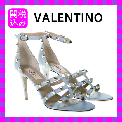 Open Toe Party Style Heeled Sandals