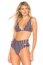 Triangl Stripes Plain Beachwear