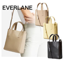 Everlane 2WAY Plain Leather Totes
