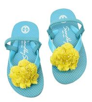Sand By Saya NY Handmade With Jewels Kids Girl Sandals